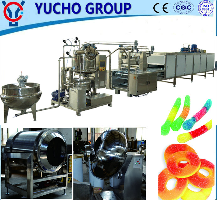 China Big Factory Good Price Jelly Gummy Candy Making Machines