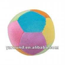 First step soft plush baby ball