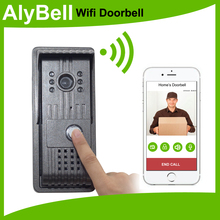 Monitoring door ringing system smart doorbell with Android/iOS smartphone app