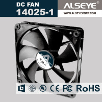 Alseye CB3609 manufacture cpu cooler fan 140mm brushless dc fan 12v portable car fan