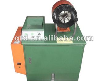 "Popular China manufacture best-selling 2"" skiving machine with Hydraulic Hose crimping machine"