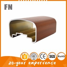 Low price high Precision wood grain aluminum extrusion for picture frame