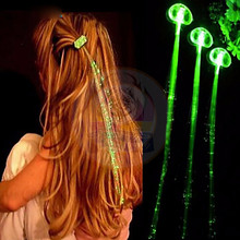 2017 New Design Lights LED Hair Party For Halloween Party Decorations LED Flashing Hair Braids