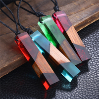 New Creative Design Resin Wood Jewelry