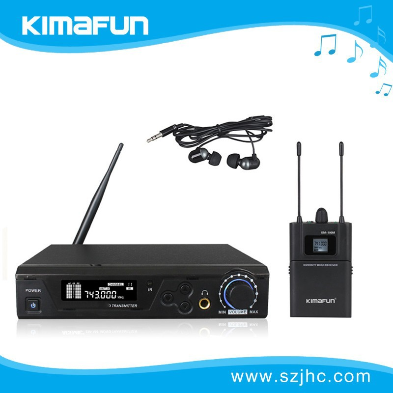 Amazing!!!2015 hot sale True Diversity wireless microphone uhf KM-100M