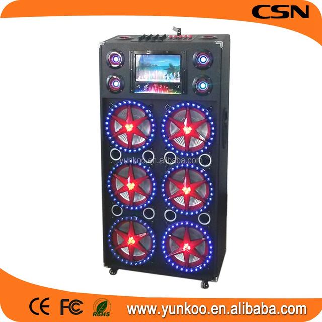 supply all kinds of battery powered speaker,mini vibration audio speaker dwarf 360,portable dj equipment