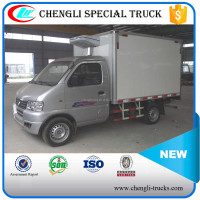 Dongfeng 4*2 1Ton Small Cold Room Van Manufacturer
