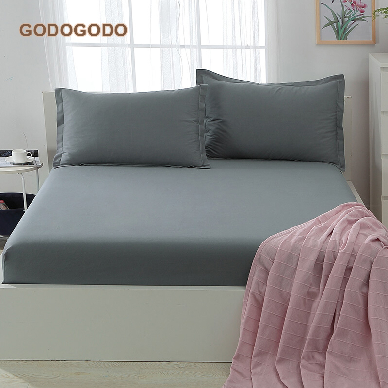 Anti Dust Mite Bed Bugs Hypoallergenic Home Hotel Mattress Protector Cotton Mattress Cover