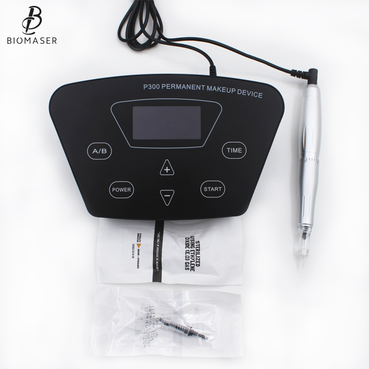 2018 New Light weight Plastic cover mini Biomaser permanent makeup digital machine
