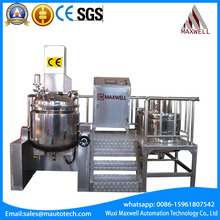 Mixer vacuum emulsifying homogenizer for mayonnaise stainless steel ccm cream emulsifying mixing tank Emulsifying Mixer