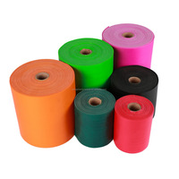 Different Thickness Customized TPE Resistance Bands