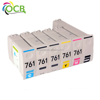 Ocbestjet 761 For Hp Compatible Remanufactured Ink Cartridge 761 With Ink and Chip