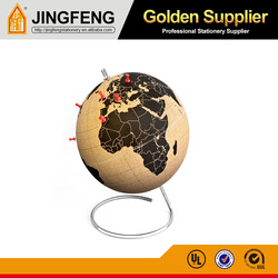 Wholesale factory direct sale good quality large cork paper globe