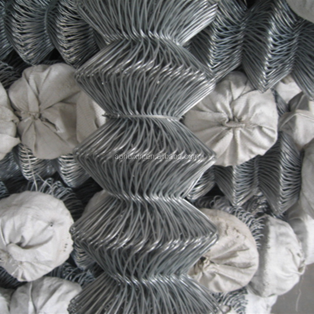 2015 hot - 50 * 50mm Hot dipped galvanized /stainless steel / PVC coated chain link fence with wire dia:1.20mm---5.0mm