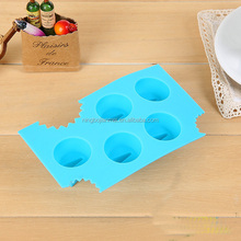 JianMei brand custom hot sale Have sharp teeth for ice making silicone ice mold
