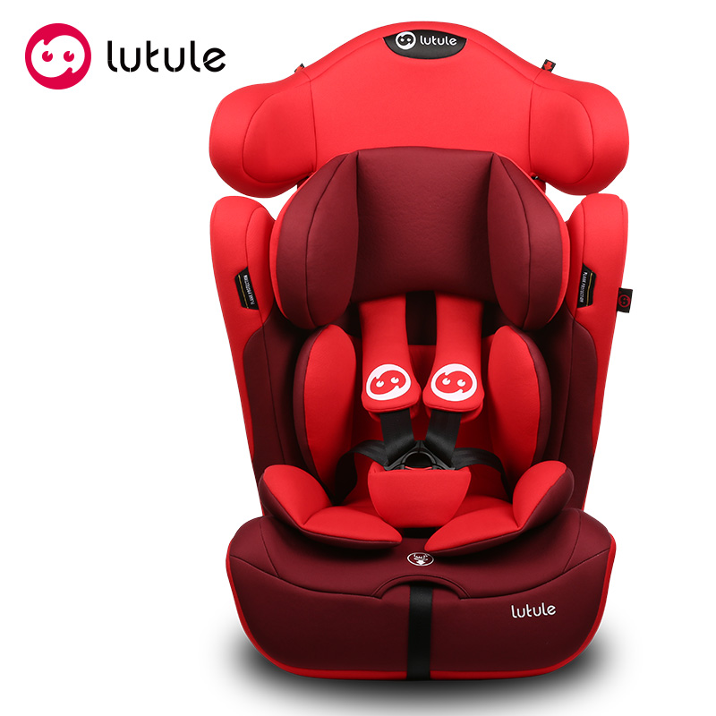 Red Forward Rearward facing baby car seat for twins 9-36kgs with ECE certificate