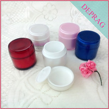 2017 new luxury acrylic 80g wholesale body scrub containers
