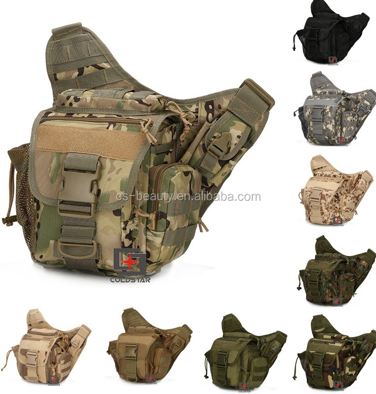 9Colors Multi Purpose Tactical Sling Backpack Bags Padded Soft Military Camera Shoulder Bag