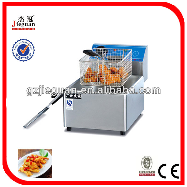 counter top electric fat fryer DF-8L