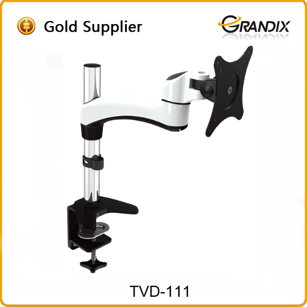 Aluminum Full Motion LCD Monitor Arm Desk Mount