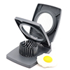 Food standard & competitive price 2 boiled egg slicer cuts cutter kitchen sectioner tools