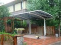 DIY polycarbonate roofing carport canopy 15 year warranty