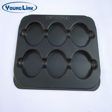 customized black ABS plastic vacuum forming tray