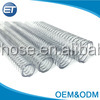 Non-Toxic Steel Wire Hose Spring PVC Steel Wire Tube Clear Spiral Water Hose