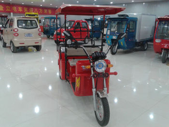 electric tricycles with 1000w brushless motor