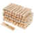Material Wood Fixed Photo Clothes Paper Colored Mini Wood Clips Clothespin