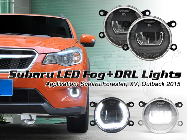LED Fog light for XV LED Fog light LED DRL Fog light for XV 2016 2012 2013 2014 2015 Su.baru with CE & E4 87 Certificates