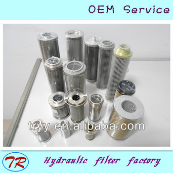 glass fiber/stainless steel filter element repalcement for hydraulic systems