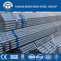 Hot Dipped Galvanized Steel Pipe for Scaffolding and Greenhouse
