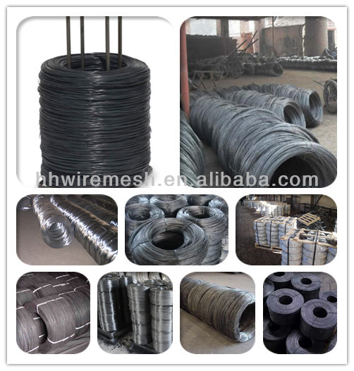 low price electro galvanized iron wire export trading company in China