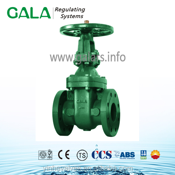 High Quality Gate Valve Hard seal / EPDM seated