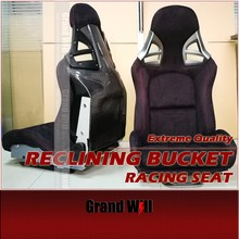 Carbon Fiber/ Fiberglass Reclining Bucket Sport Racing Seats/ SPE