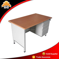 metal standard desk specification executive steel office furniture table