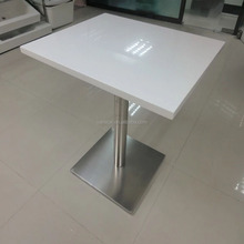 Cut to Size Artificial Stone Marble Top Dining Table/Coffee Table