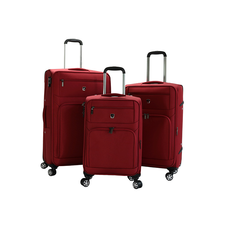 Hot selling 3pcs set 20 24 28 in vintage luggage 4 wheels valise bags durable travel luggage factory