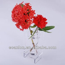 Acrylic clear Flower display stand