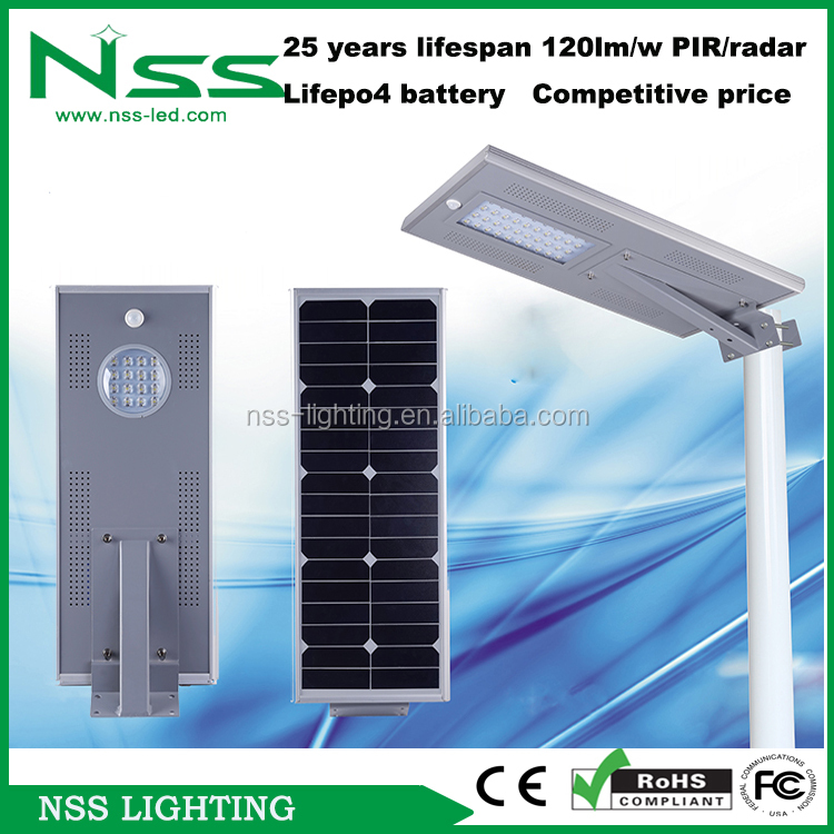 work 36hours per day 15W street light solar for garden road street