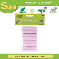 Eco-friendly removable trash bags in pet products for sale