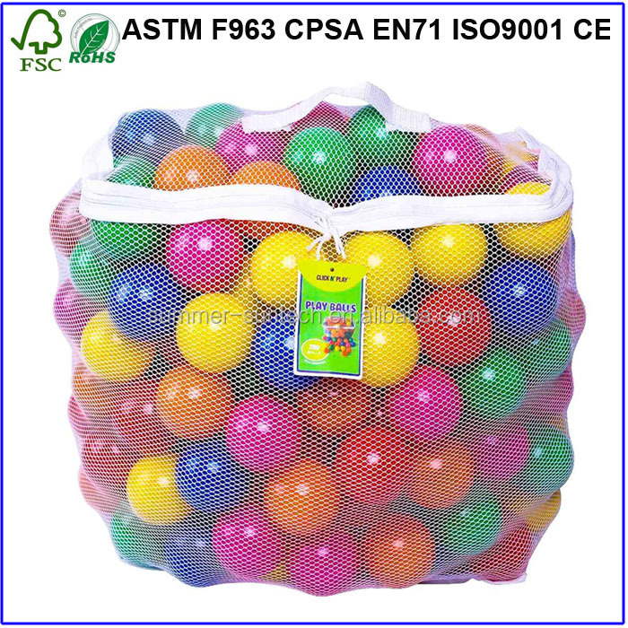 Top sale colourful ocean ball bulk plastic balls for children