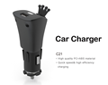 Quantity produce Large current Smart IC car charger