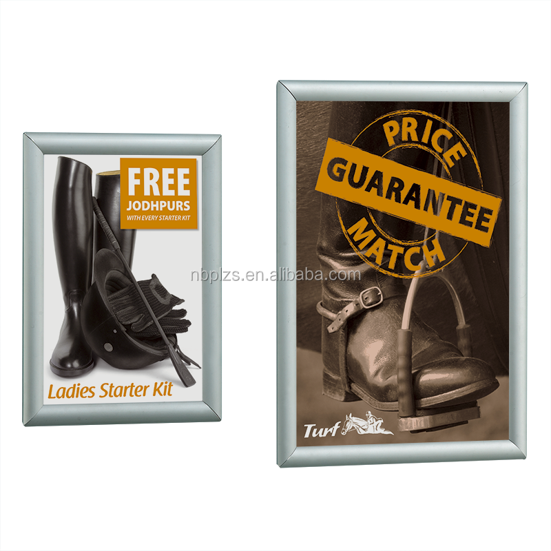 wall hanging advertising frame <strong>poster</strong> snap frame wholesale in <strong>size</strong> 24*36,22*28