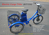 2015 New Hot selling 3 wheel motorized bike,electric cargo trike, three electric cargo tricycle with our Smart Pie Hub Motor