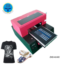High quality digital textile printer/cheap garment printer/a3 size t shirt printing machine