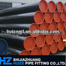 carbon steel API 5L X52 cement lined pe coated steel pipe