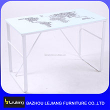 ikea Home/office furniture study cum glass computer table/desk models with prices CD-08