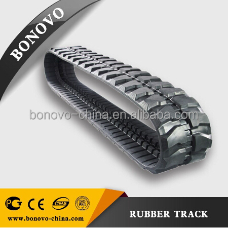 SUMITOMO S160 400x142x41 rubber track , rubber pad ,rubber crawler made from natural rubber for Excavator